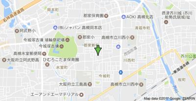 【地図】ドミールコウA棟 (株)Roots
