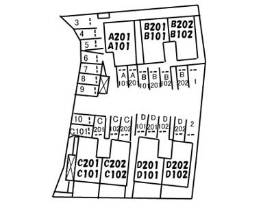 【区画図】シャーメゾン・ルミナーレ C棟