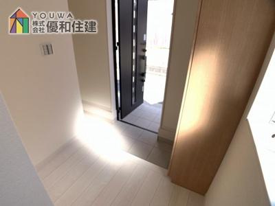 【玄関】明石市林1丁目 新築一戸建て