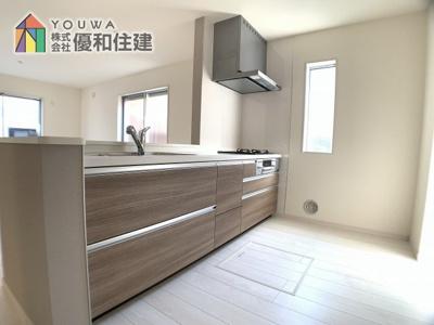 【キッチン】明石市林1丁目 新築一戸建て