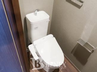 DeLCCS市谷柳町のトイレです