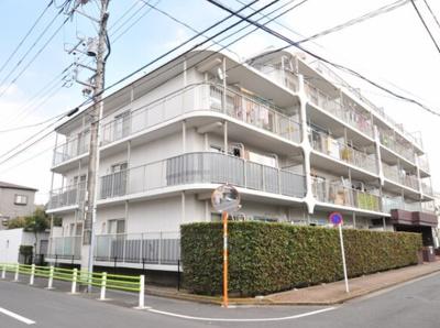 日商岩井マンション金町の外観です。