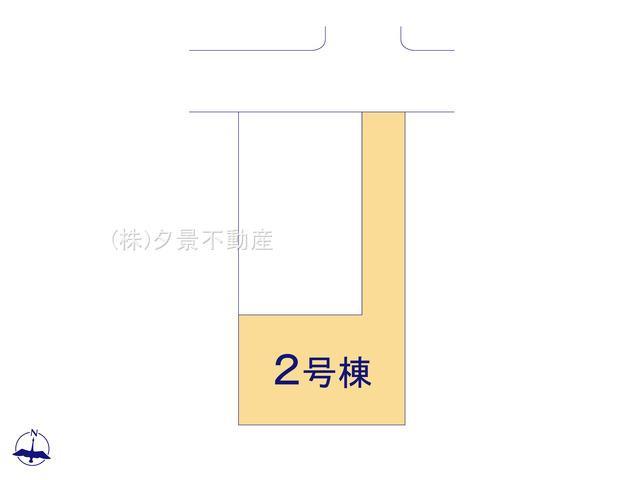 【区画図】中央区新中里3丁目7-18(2号棟)新築一戸建てケイアイスタイル