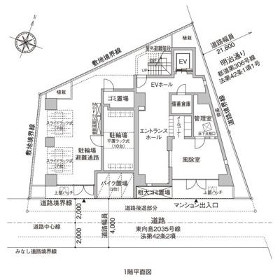 【区画図】ルフレ向島
