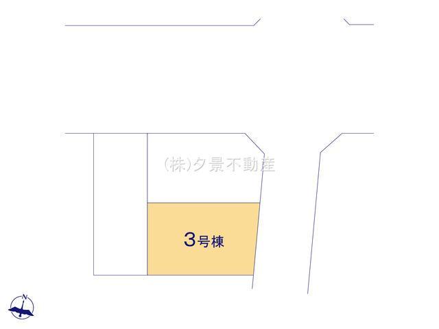 【区画図】浦和区大東3丁目26-14(3号棟)新築一戸建てRicca