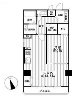 1LDK+S(納戸)、価格2498万円、専有面積59.4m2、バルコニー面積6.39m2 のお部屋です!