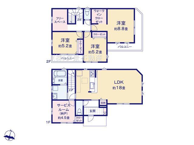 浦和区大東3丁目26-14(2号棟)新築一戸建てRicca