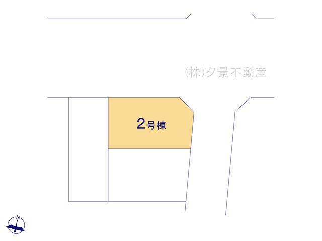 【区画図】浦和区大東3丁目26-14(2号棟)新築一戸建てRicca