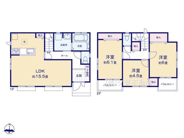 戸田市笹目1丁目27-15 (1号棟)新築一戸建てハートフルタウン