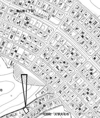 【区画図】安佐北区亀山南5丁目