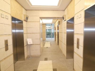 プライムパークス品川シーサイドザ・タワーのエレベーターです。