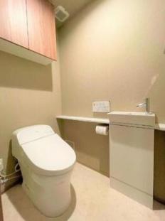 プライムパークス品川シーサイドザ・タワーのトイレです。