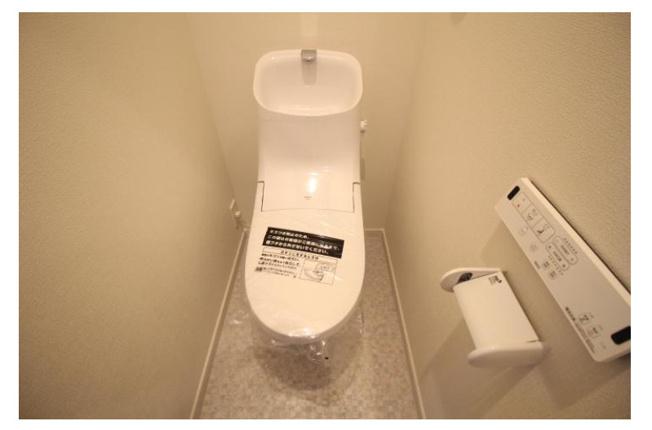 【トイレ】八王子市万町の一棟売りアパート