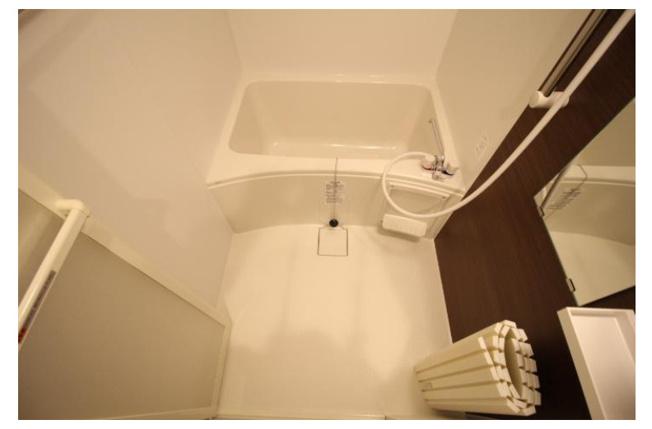 【浴室】八王子市万町の一棟売りアパート