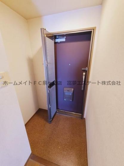 【玄関】セントラルステージ光明池