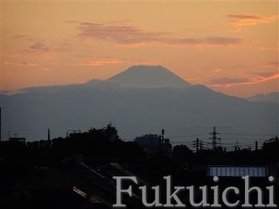 おそらく富士山です!