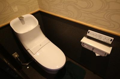【トイレ】紫野上柏野町 中古戸建