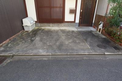 【駐車場】紫野上柏野町 中古戸建