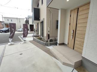 【外観】茨木市中総持寺町 新築未入居 一戸建