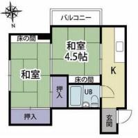 【間取り】《RC造!高稼働》静岡県熱海市昭和町一棟マンション