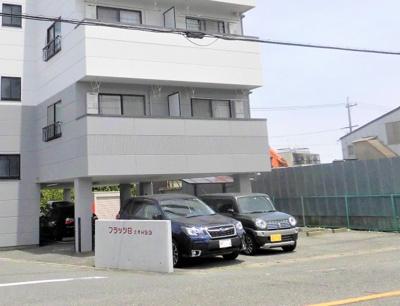 【駐車場】フラッツB