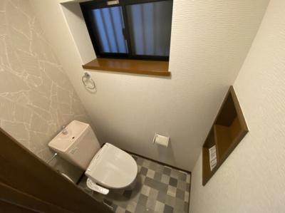 ■1階トイレです