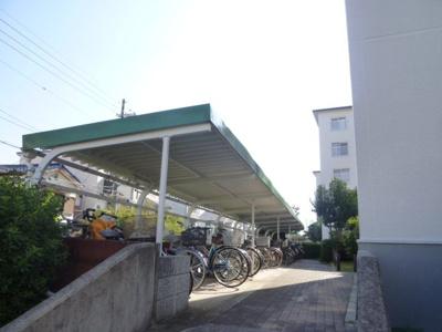 【駐輪場】竹の台団地D1棟