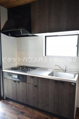 【キッチン】磯子戸建