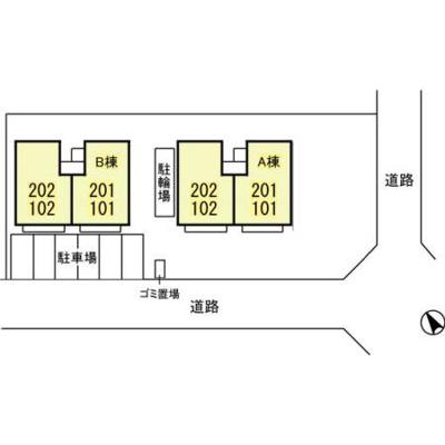 【区画図】シエスタ B