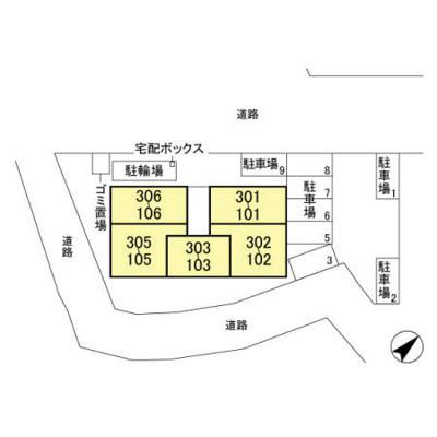 【区画図】ブラウ天王台