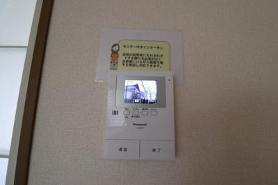 カラーモニター付インターホン(録画機能付)