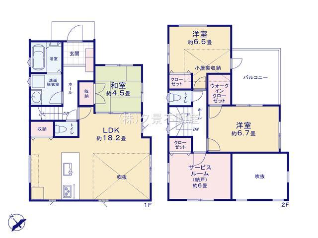 【区画図】南区大字太田窪3226-6新築一戸建てミラスモ