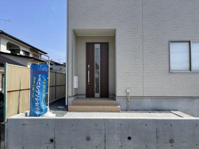【外観:施工例】クレイドルガーデン真岡市熊倉第3 新築一戸建て