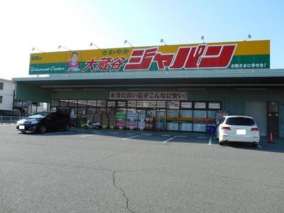 ジャパン大蔵谷店まで350m