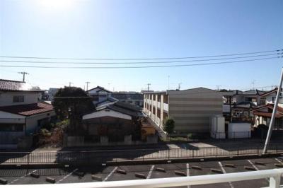 バルコーからの眺望写真をパシャリ