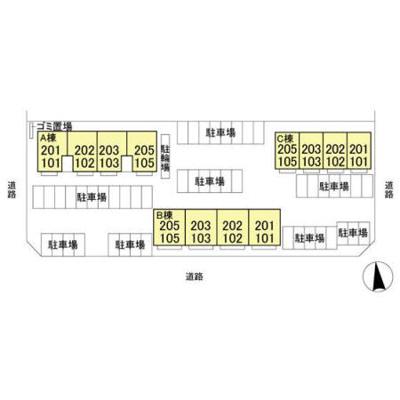 【区画図】グラン・ジュテ・A棟