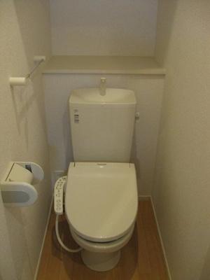 【トイレ】ヴィル・フォーレⅦ