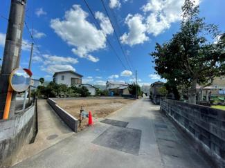 【前面道路含む現地写真】伊豆の国市寺家第5 新築戸建 1号棟