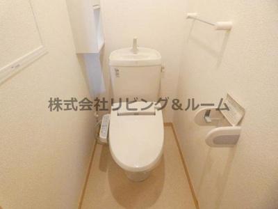 【トイレ】ヴィラ サンライズ ドリーム・Ⅲ