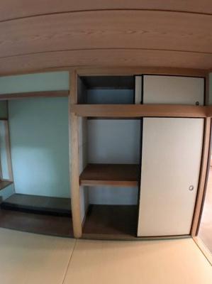 1階和室の収納です♪