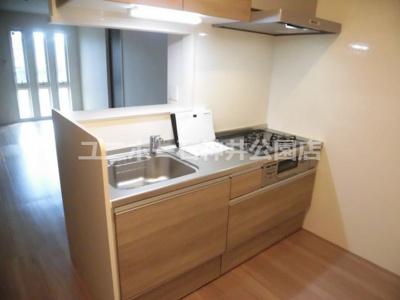 【キッチン】グレイスパール平和台