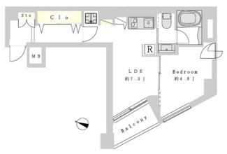 池袋駅まで徒歩7分の便利なマンション。眺望良好です!