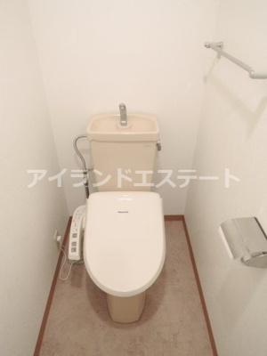 【トイレ】ラ・カーサ・セレナータ 駅近 2人入居可能 デザイナーズ賃貸