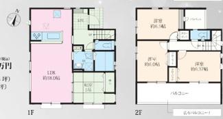 【間取り】寒川町一之宮第6期 新築戸建 全2棟2号棟