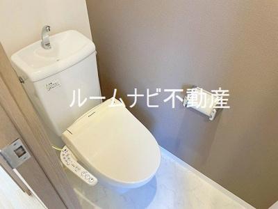 【トイレ】ソレイユ南大塚