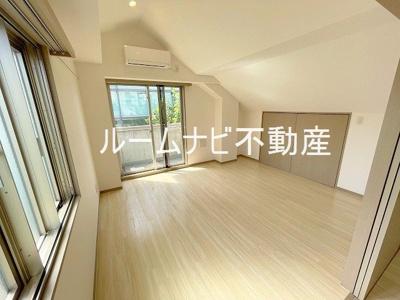 【寝室】ソレイユ南大塚