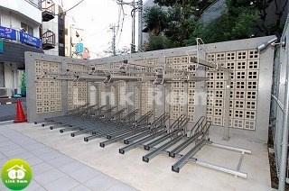 敷地内駐輪場も完備
