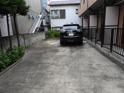 【駐車場】中田ハイツ