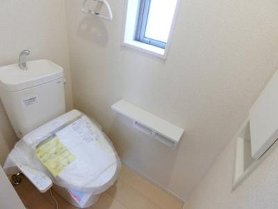 同仕様トイレ。