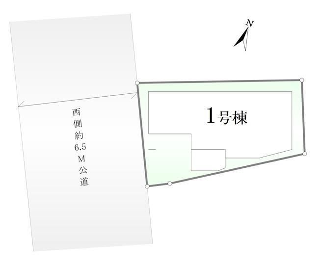 【区画図】荒川区町屋7丁目 限定1棟